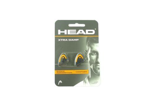 Head - Xtra Damp Murray Schwarz-Orange Vibrastop