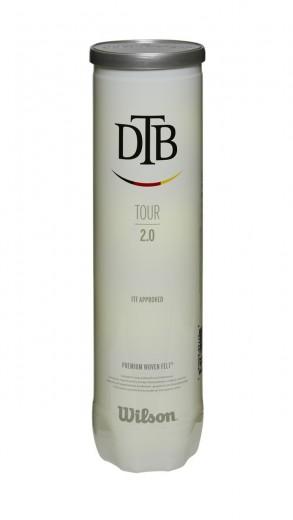 Wilson Tour DTB 2.0 Tennisbälle 4er Dose