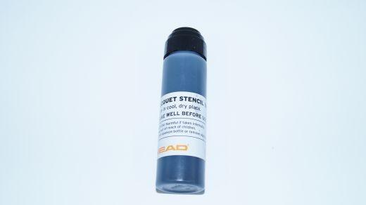 Head - Racquet Stencil Ink (schwarz) Saitenfarbe