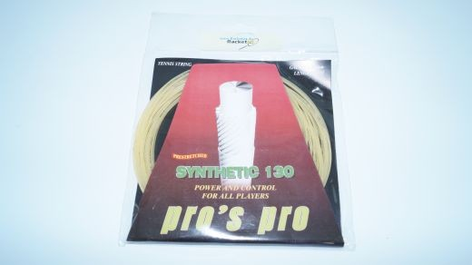 Pro's Pro - Synthetic 130 weiss 12m (1.30mm) Saitenset