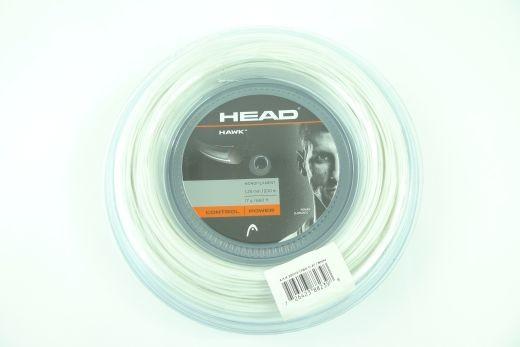 Head - Hawk weiss 200m (1.25mm) Saitenrolle