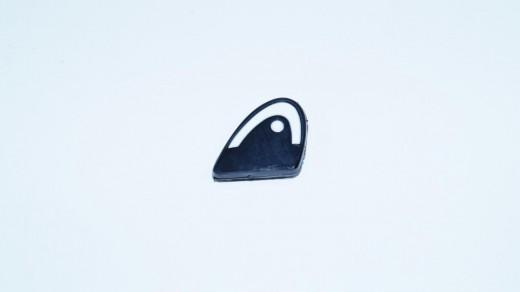 Head - Xtra Damp Logo schwarz-weiss Dämpfer