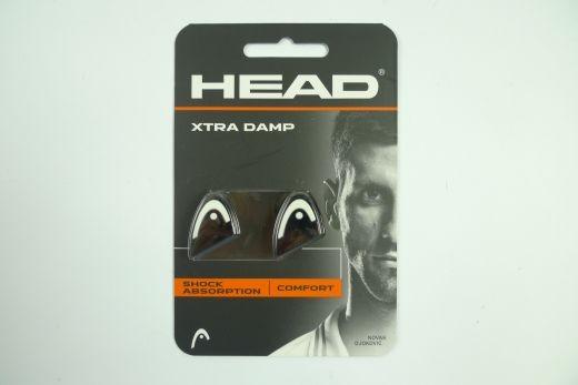 Head - Xtra Damp Dämpfer schwarz-weiss Vibrastop