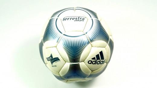 Adidas Terrestra Fußball Gr. 5