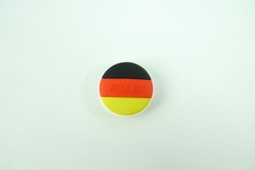 Pro's Pro - Nationen Flagge Deutschland (rund) vibrastop