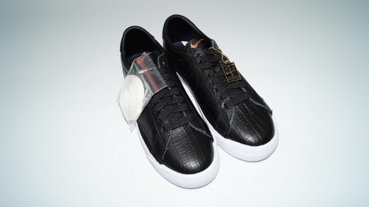 Nike Zoom Classic Tennisschuhe (Gr. 40) schwarz