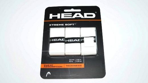 Head Xtreme Soft Overgrip 3er Pack weiß Griffbänder 1