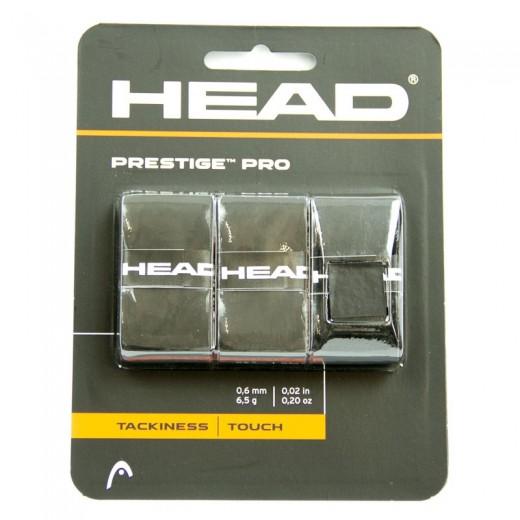 Head - Prestige Pro Schwarz 3er Griffband 2