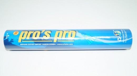 Pro's Pro - Entenfder-Badmintonbälle 12er