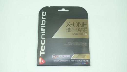Tecnifibre - X-One Biphase 12m (1.18mm) Saitenset