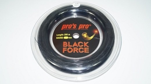 Pro's Pro - Black Force 12m (1.19mm) Saitenset