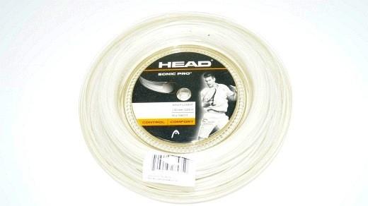 Head Sonic Pro weiss 200m (1.30mm) Saitenrolle