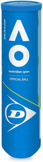 Dunlop Australian Open 4er Tennisbälle