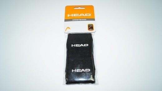 Head Schweißband 2er Pack Wristband (schwarz)