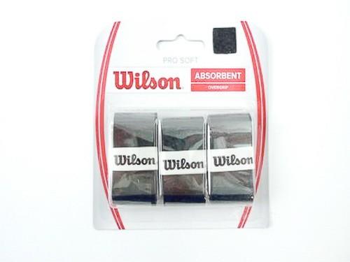 Wilson - Pro Soft schwarz 3er Griffbänder