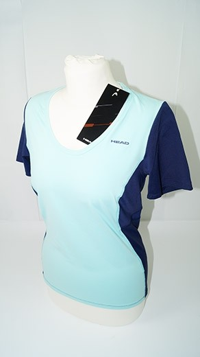 Head Performance W Round Neck Shirt (Gr. S) blau