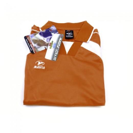 Masita - Langarm Trikot Orange Shirt