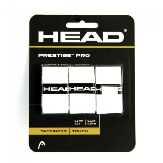 Head - Prestige Pro Weiss 3er Griffband