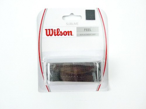 Wilson - Sublime Grip perforated Schwarz Griffband