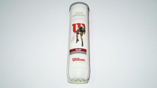 Wilson - Tour Germany Clay 4er Dose Tennisbälle