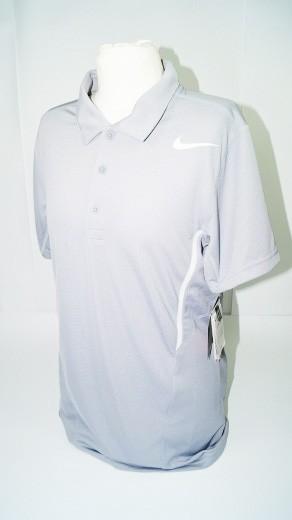 Nike Herren Poloshirt (Gr. XS) Dri Fit Shirt grau