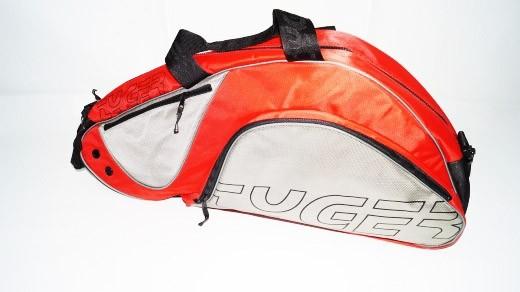 Tyger RHx6 Tennistasche Racketbag (rot,silber) Tasche 6er