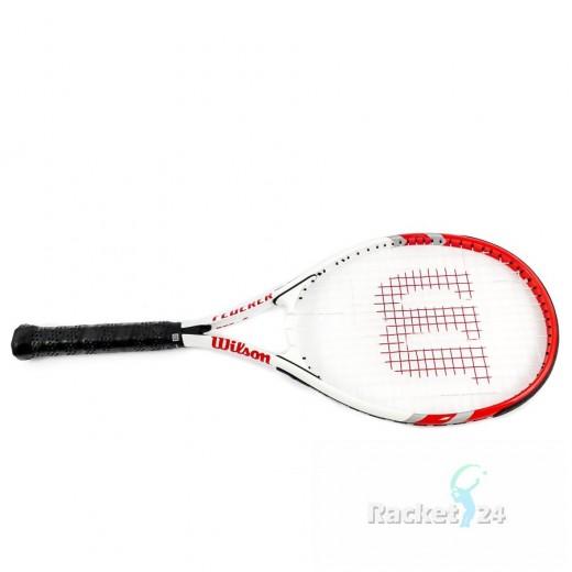 Roger Federer Tennisschläger L3 Power Strings Light strung mit Tasche