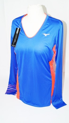 Mizuno Premium Aero Langarm Shirt Damen (Gr. L)