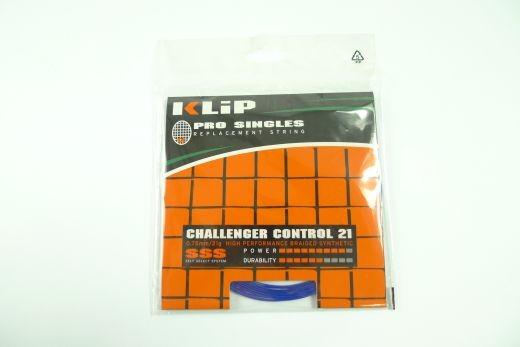 Klip - Challenger Control 21g 12m (0,75mm) Badmintonsaite