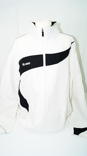 JakoTracksuit Trainingsanzug (Gr. XL) weiß/schwarz