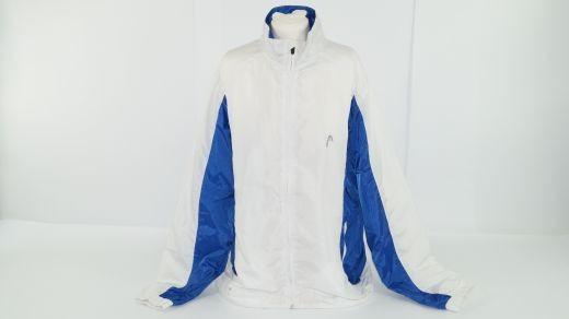 Head Trainingsjacke Club Suit Blau/Weiß (Gr. M) 1