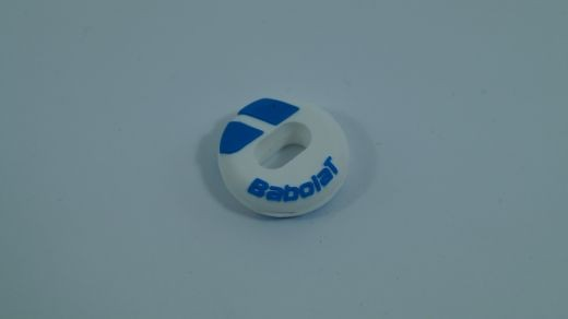 Babolat - Custom Damp (weiß blau) Dämpfer