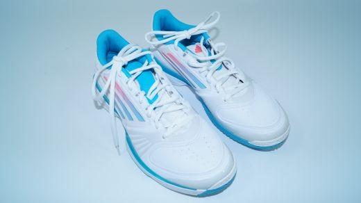 Adidas - Adizero Allegra weiss blau (Gr. 42 2/3) Schuhe