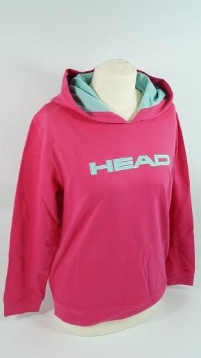 HEAD Mädchen Kapuzenpullover Größe 164 Sweater Tennis pink G Junior Hoody