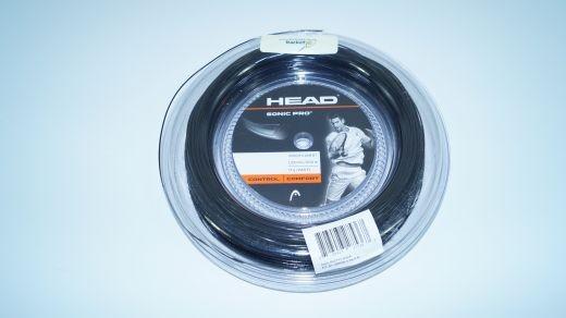 Head Sonic Pro schwarz 12m Saitenset (1.30mm)