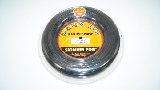 Signum Pro - Hyperion schwarz 12m (1.30mm) Saitenset