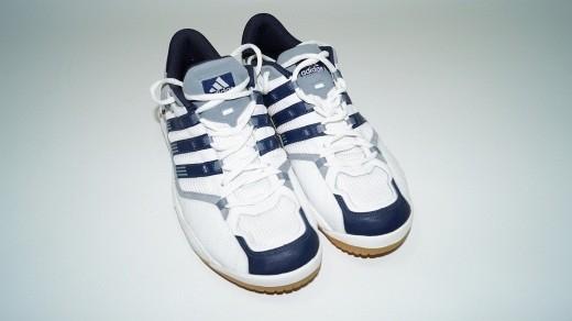 Adidas Torres Tennisschuhe weiß marine (Gr. 45 1/3)