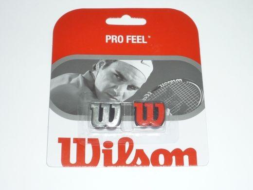 Wilson - Pro Feel 2er (rot silber) Dämpfer