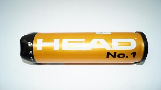 Head No.1 DTB Tennisbälle (1 Dose mit 4 Bällen)