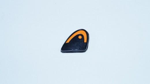 Head - Xtra Damp Logo schwarz-orange Dämpfer