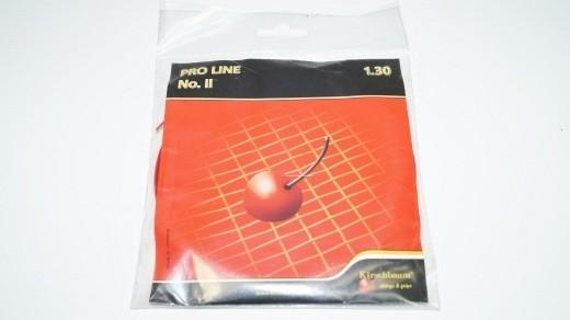 Kirschbaum Pro Line No. II 12m Saitenset (1.30mm) rot