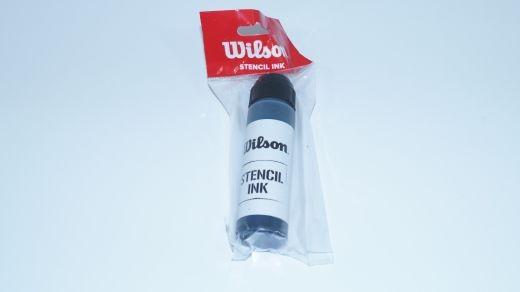Wilson - Stencil Ink (schwarz) Saitenfarbe