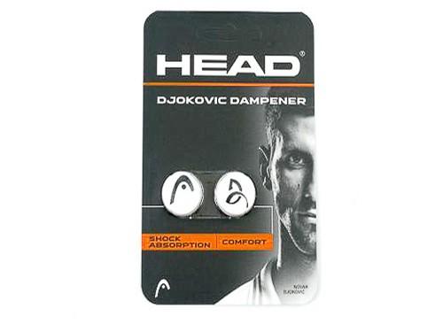 Head - Djokovic Dampener Weiss Vibrastop