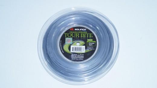 Solinco Tour Bite 200m Saitenrolle (1.15mm) Tennis