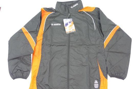 Masita - Windbreaker Schwarz-Orange M Jacke