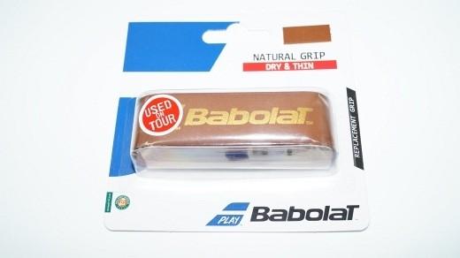 Babolat Leather Natural Grip Basisband Leder Dry&Thin